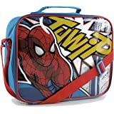 Spiderman Kids Red Insulated Lunch Bag