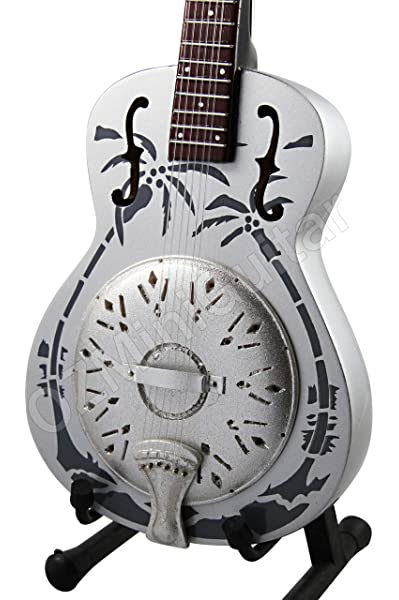 RGM684 Marc Knopfler Dire Straits Guitarra en miñatura: Amazon.es ...