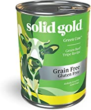 Solid Gold - Green Cow Beef Tripe & Broth - Natural Wet Canned Dog Food for Sensitive Stomachs & Picky Eaters - Grain Free Me