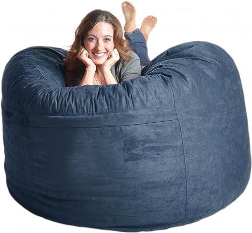 Reviewed: SLACKER sack 5-Feet Memory Foam Microsuede Beanbag Chair