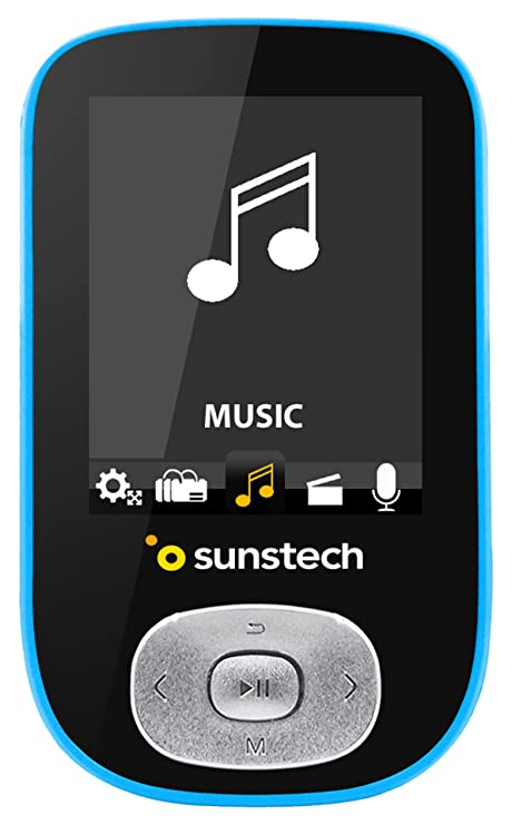 Sunstech SKYBT - Reproductor MP4, Color Azul: BLOCK: Amazon.es ...