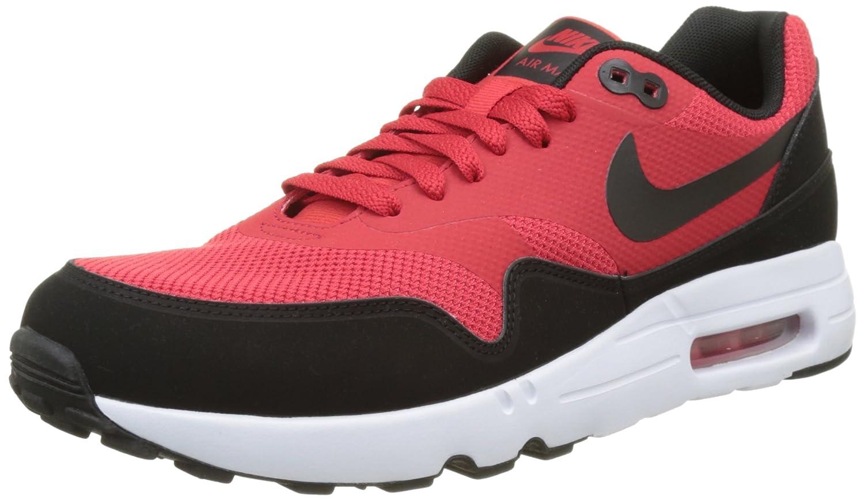 Nike Herren Air Max 1 Ultra 2.0 Essential Sneaker  43 EU|Rot (University Red/Black White)
