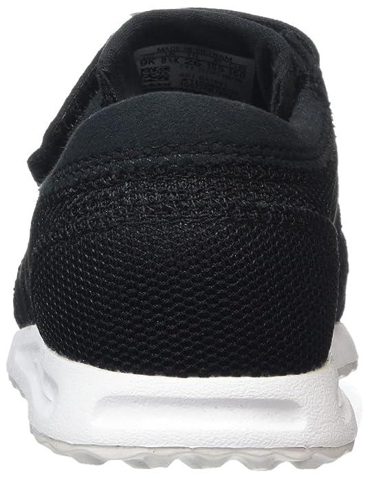buy online 674e6 bd8ed adidas Los Angeles CF, Scarpe da Ginnastica Basse Bimbo, Nero (Core BlackCore  BlackFtwr White), 22 EU Amazon.it Scarpe e borse