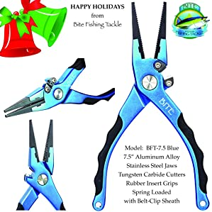 Bite Fishing Tackle Saltwater or Split Ring Fishing Pliers Review