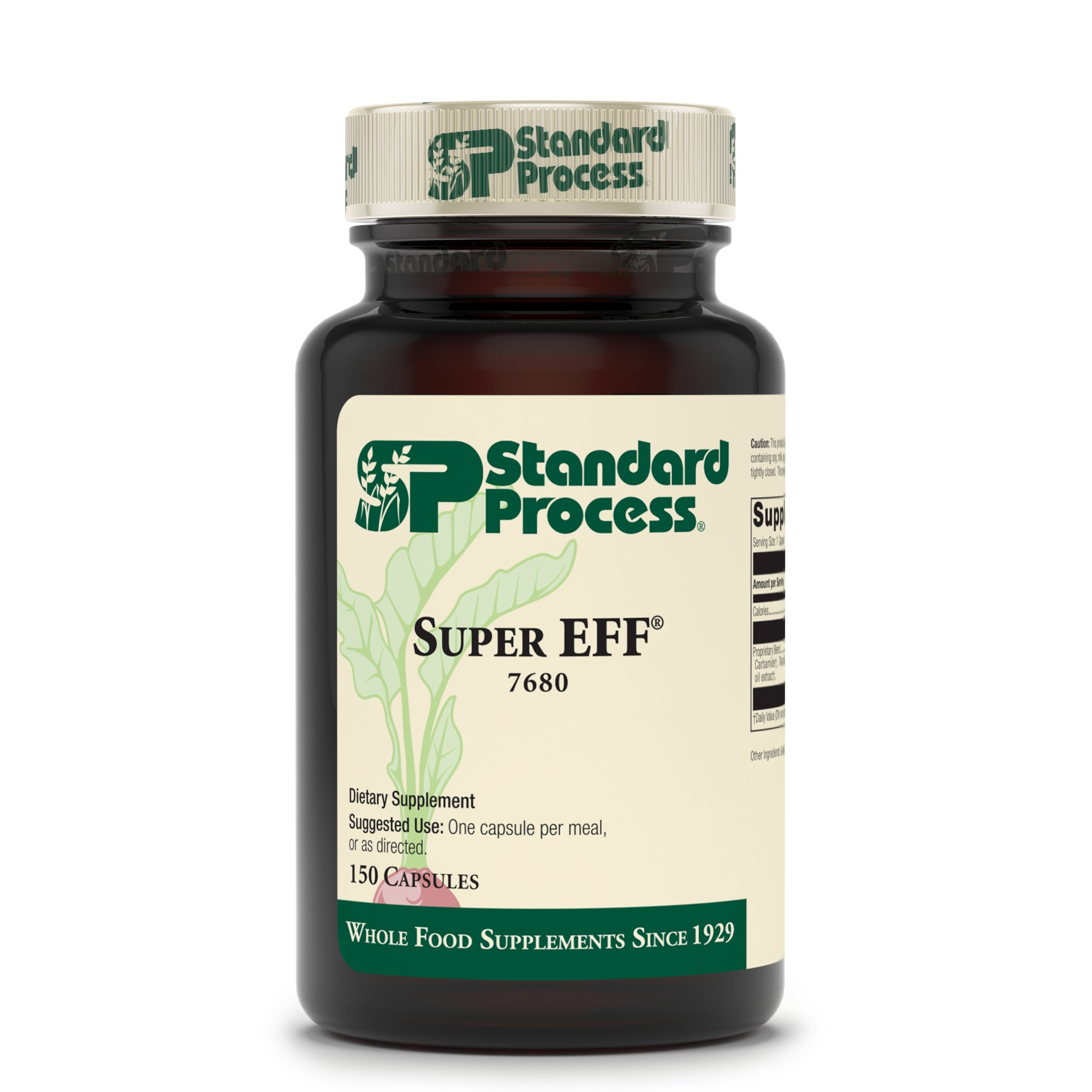 Standard Process - Super-Eff - Supports Nervous System, Cellular Health, Energy Production - 150 Capsules by Standard Process (Image #2)