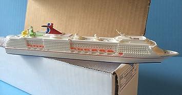 Amazoncom CARNIVAL LEGEND Cruise Ship Model In Scale - Model cruise ship kits