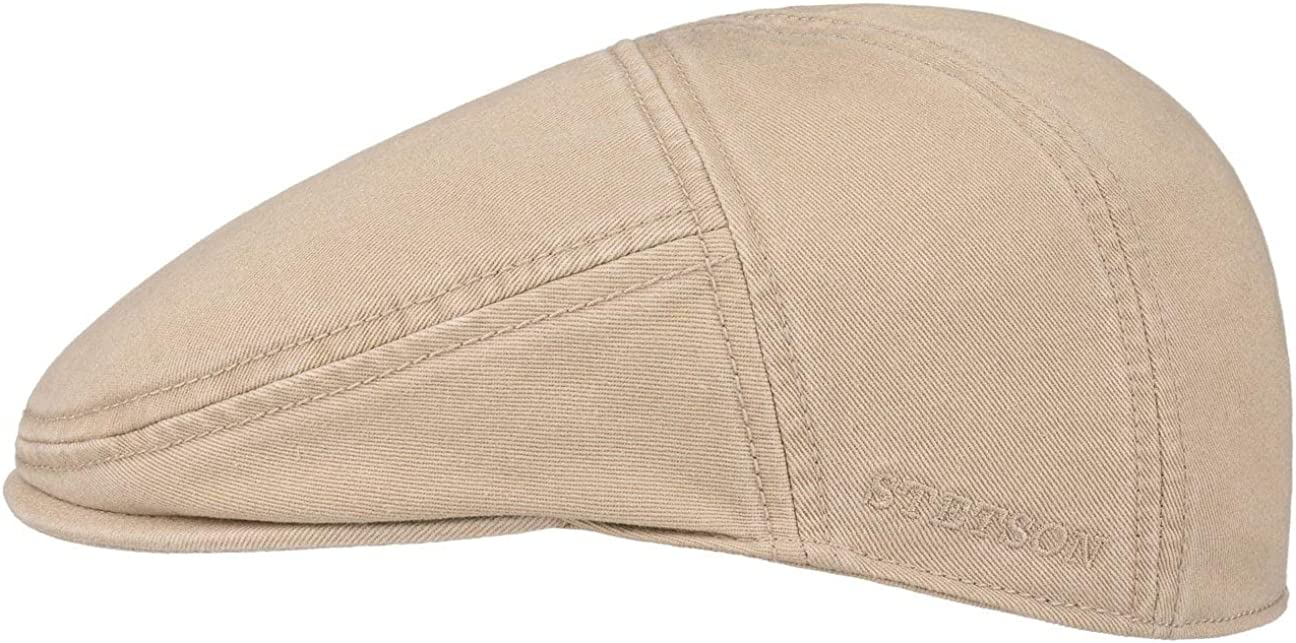 Stetson Paradise Cotton Gorra Plana Hombre - Gorra Plana con protección UV 40 - Gorra de Hombre de algodón - Gorra Plana Verano/Invierno -