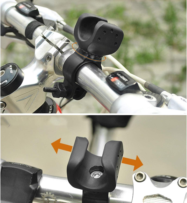 360 ° Rotation Universal Bicycle Headlight Holder Flashlight Rack Light Mount