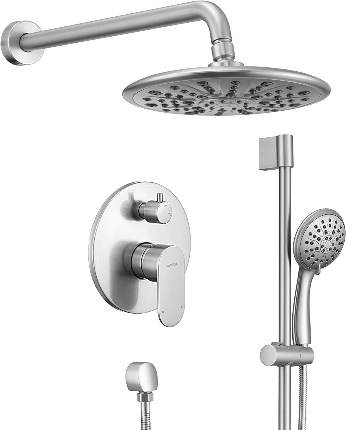 Color : A JYDQM 1pc Adjustable Bathroom Anti Splash Shower Faucet Head Nozzle Faucets Kitchen Tap Water Saving Device Household Supplies