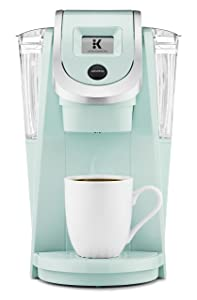 Keurig K250 Coffee Maker, Single Serve K-Cup Pod Coffee Brewer, With Strength Control, Oasis