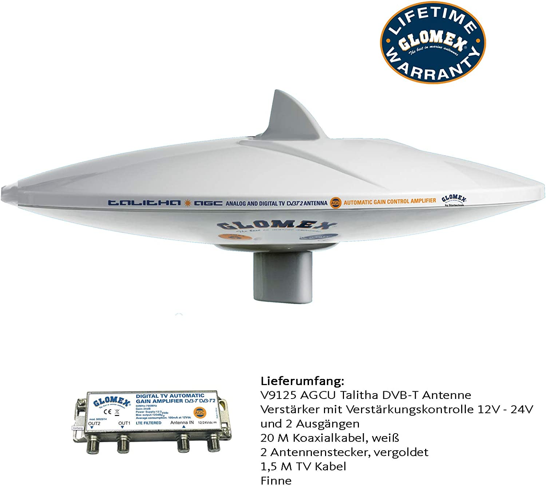 Spartechnik Glomex Marine V9125 AGCU: Amazon.es: Electrónica