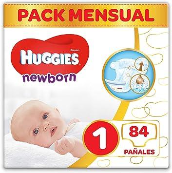 Huggies Newborn Pañales Recién Nacido Talla 1 (2-5 kg) - 84 pañales: Amazon.es: Salud y cuidado personal