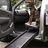 Folding Car Dog Pet Ramp Step Ladder Light Travel Car Portable Folding Truck SUV