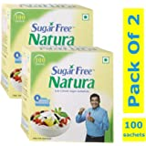 Sugar Free Natura 100 Sachets Pack (Pack of 2)