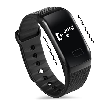 NEWYES Reloj Inteligente Fitness Tracker Monitor de Pulso de Presión Arterial SPO2H Podómetro Gestión del Sueño