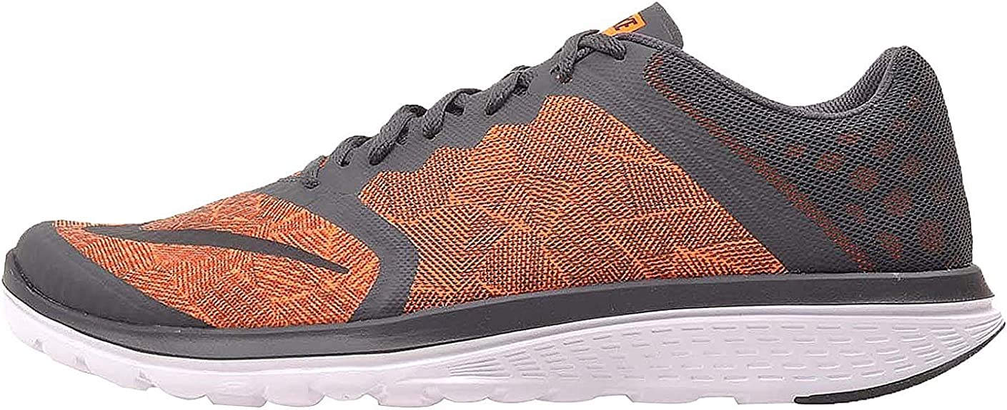 Zapatillas de running Nike Fs Lite Run 3 Print antracita / negras-Total Orange-White tobillo-altas - 11M: Nike: Amazon.es: Zapatos y complementos