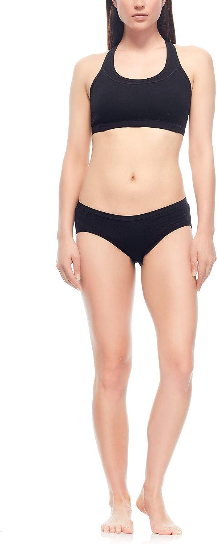Icebreaker Merino Meld Zone Sport Bra Base-Layer-Underwear