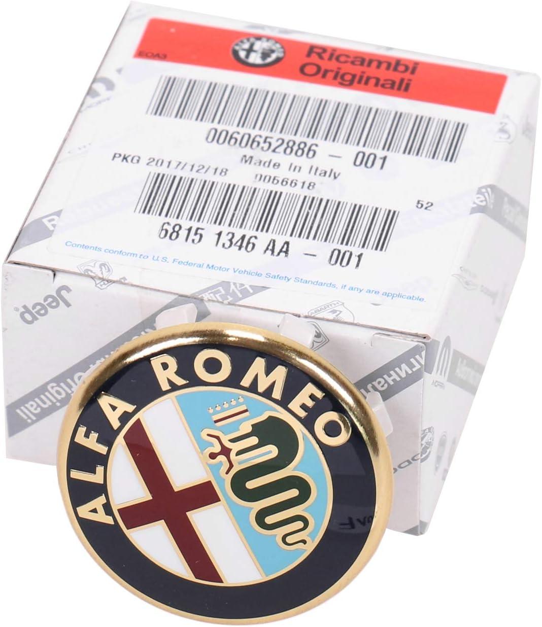 Original Alfa Romeo Nabendeckel Alufelge Felgendeckel Nabenkappe 60652886 Auto