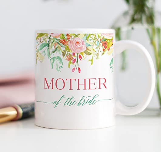 amazon com mother of the bride coffee mug wedding present for mom