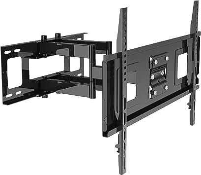 TM Electron TMSLC143 Soporte de pared universal inclinable giratorio con brazo para monitores o televisores LED, OLED, LCD, Plasma de 32