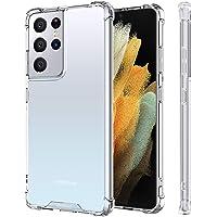 MEMUMI Funda para Samsung Galaxy S21 Ultra Transparente Super Claro Protector Carcasa Case para Galaxy S21 Ultra Delgada…