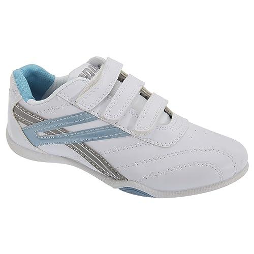a1352b9692db6 PDQ - Zapatillas deportivas modelo Raven 3 con velcro para mujer  Amazon.es   Zapatos y complementos