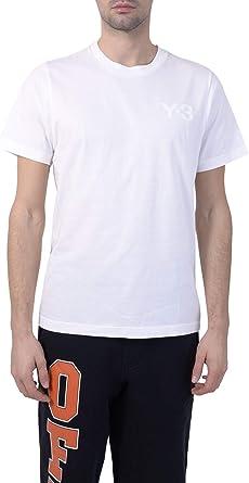 adidas Y-3 Yohji Yamamoto Hombre CE8741 Blanco Algodon T-Shirt: Amazon.es: Ropa y accesorios