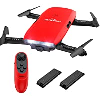 GoolRC T47 6 ejes UAV Gyro WIFI FPV con cámara 720P HD Quadcopter G-Sensor plegable RC Selfie Drone RTF con batería adicional