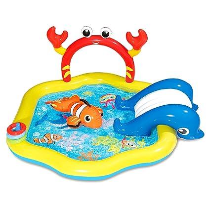 Amazon.com: Centro de juegos hinchable para niños con ...