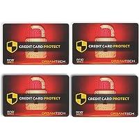 4 x Tarjetas de Bloqueo DreamTECH RFID &