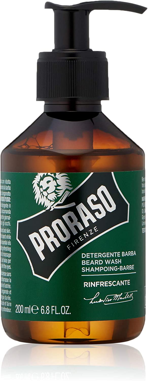 Proraso Beard Wash Refreshing, 200 ml