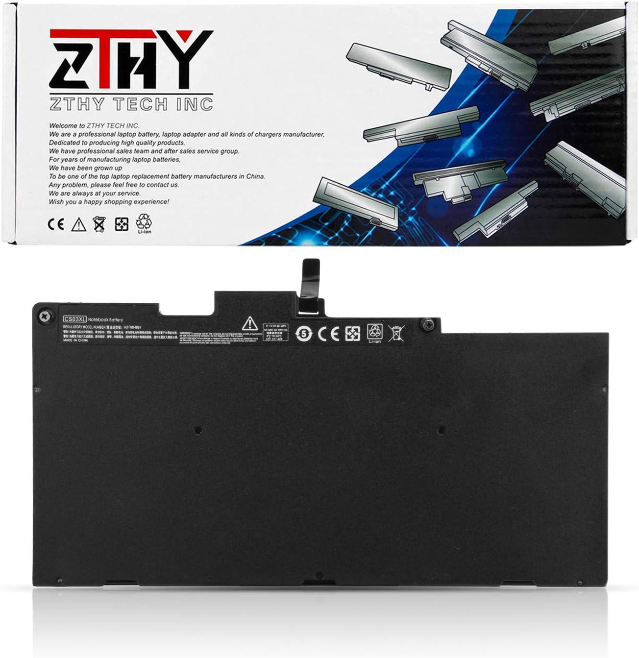 ZTHY CS03XL Laptop Battery for HP EliteBook 840 G3 848 G3 850 G3 755 G3 745 G3 EliteBook 840 G4 848 G4 850 G4 755 G4 745 G4 ZBook 15u G3 G4 mt42 mt43 Series 800231-1C1 800513-001 11.1V 46.5Wh 3Cell