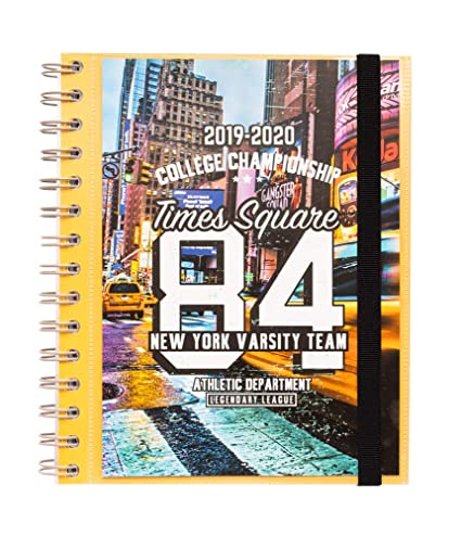 Agenda escolar 2019/2020 semana vista New York