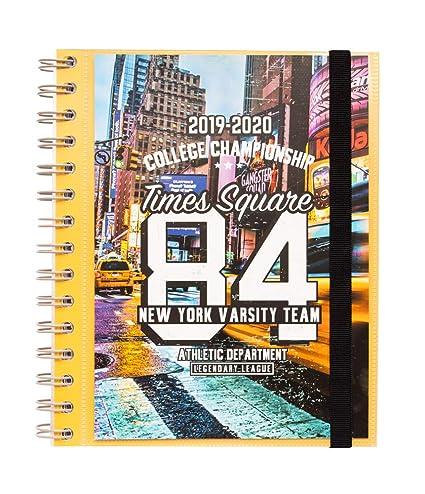 Agenda escolar 2019/2020 semana vista New York