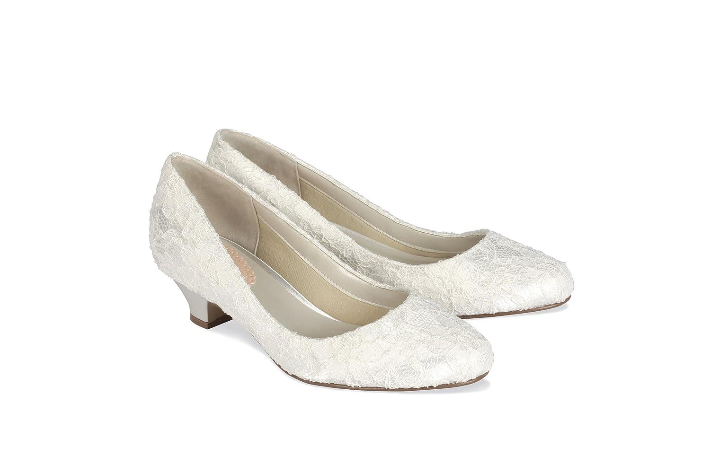 8285dd3a46b Pink Paradox London Bon Bon Ivory Wedding Shoes Size 10: Amazon.co.uk: Shoes  & Bags