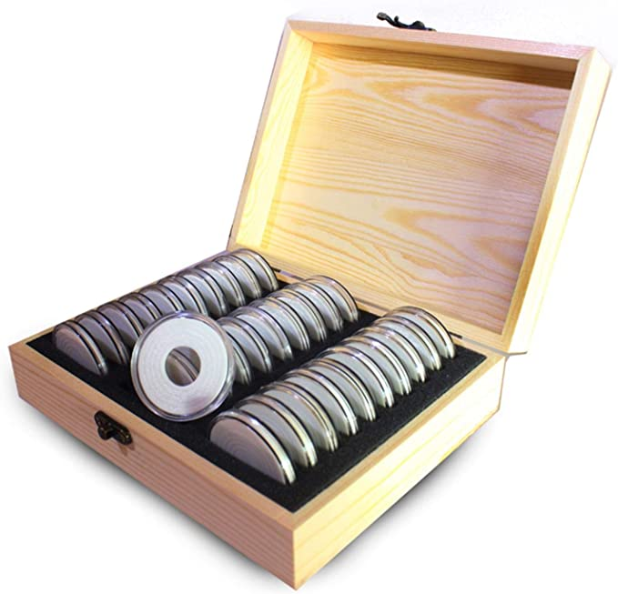 Lindner 2358 Coin Carrying Case Aluminium BIG for 8 coin boxes or 4 collection boxes