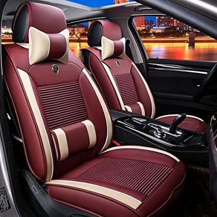 Amazon Com Qll Plush Long Wool Car Seat Cover Luxury Australia 100