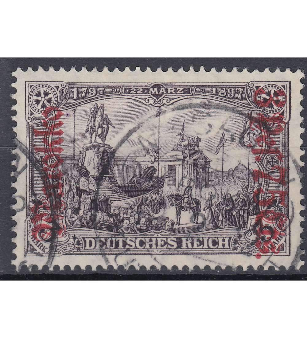 Goldhahn Deutsche Post Marokko Nr. 57A gestempelt geprüft geprüft geprüft Briefmarken für Sammler d42c65