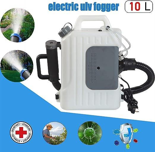 SGLMYD Nebulizador for fumigar,Eléctrica Jardín spraye,Backpack Máquina de Pulverización de, Ultra Capacidad,para Hospitales,Hogar,Subway,Cars: Amazon.es: Hogar