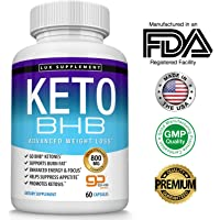 Lux Supplement,YouAlreadyKnow Keto Pills Advanced Weight Loss BHB Salt - Natural Ketosis Fat Burner Using Ketone & Ketogenic Diet, Boost Energy While Burning Fat, Fast & Effective Perfe