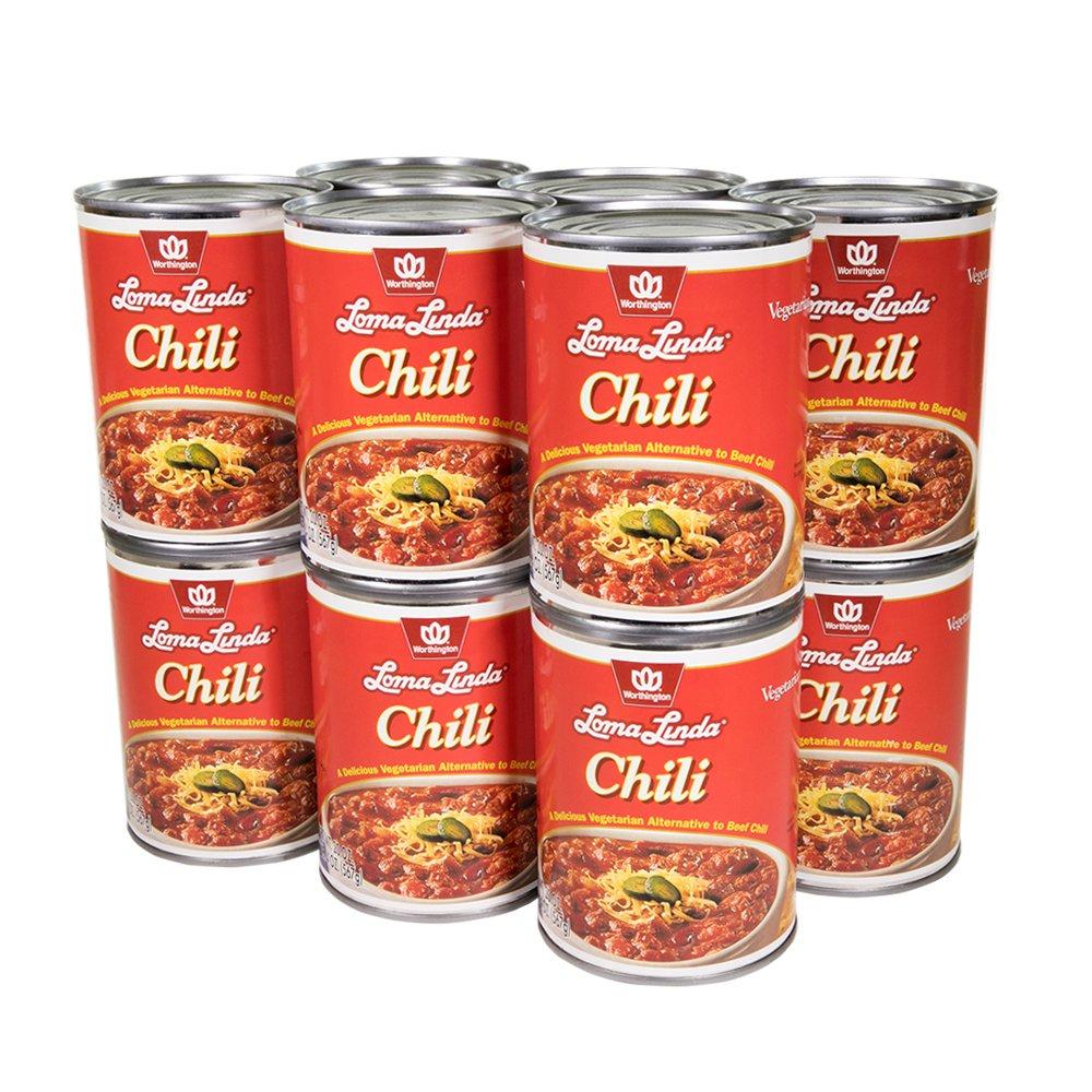 Loma Linda - Vegetarian - Chili (20 oz.) (Pack of 12) - Kosher
