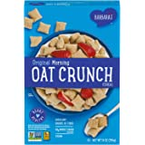 Three Sisters Barbara's Morning Oat Crunch Original Cereal, Heart Healthy, Non-GMO, 14 Oz Box