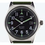 MWC G10 LM Military Watch (Olive Green Strap) 50M