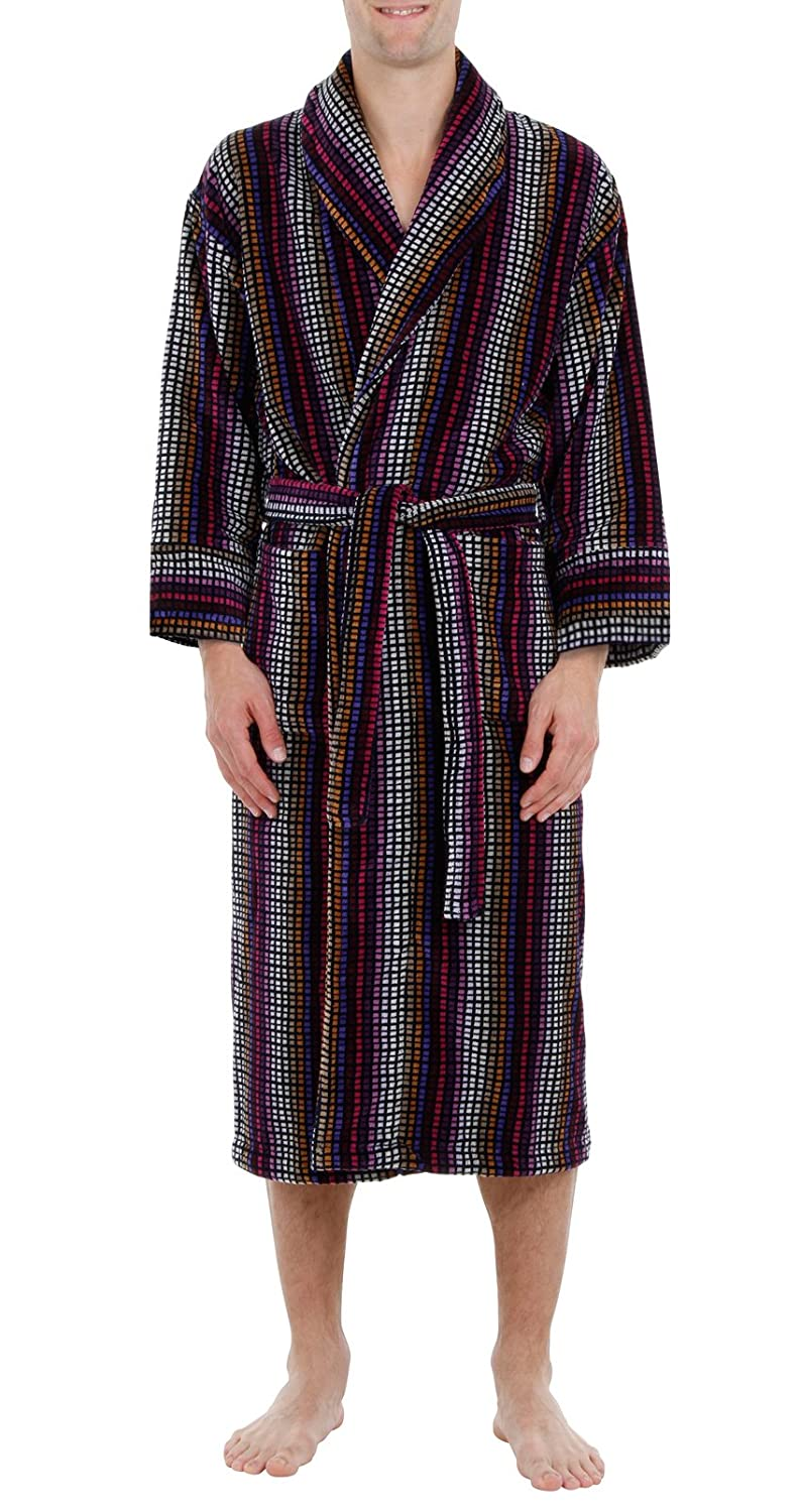Bown of London - Gold Label - Men\'s Luxury Velour Dressing Gown ...