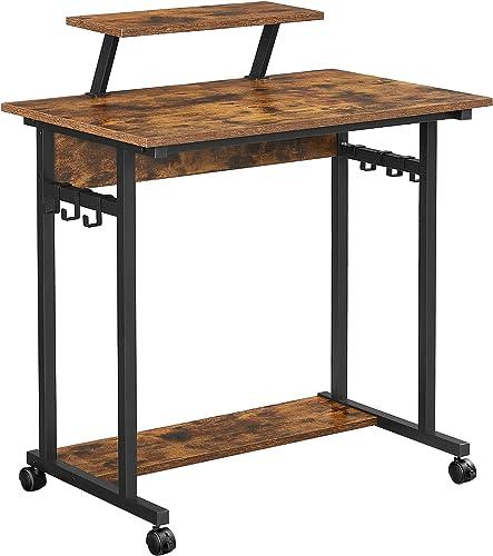 VASAGLE Mobile Computer Writing Desk