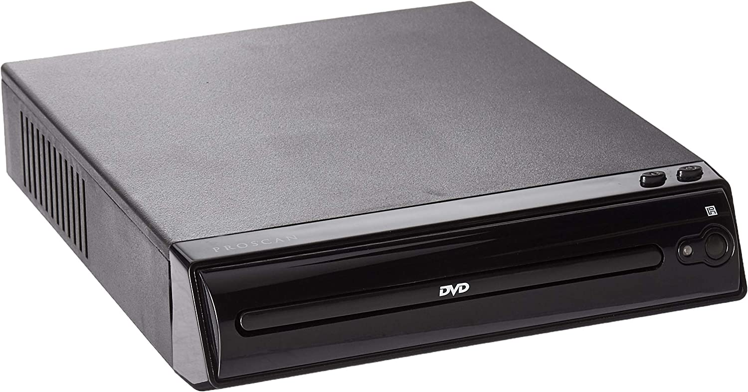 Proscan Progressive Scan Auto Load DVD Player with Full Function Remote Control