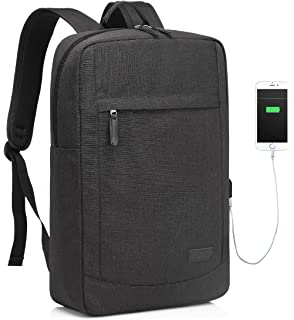 17 inch Laptop Backpack for Men with USB Charging Port Lightweight Slim  Business Computer Rucksack with 581ef0d936
