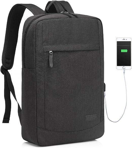 Multi-Compartments Business Bag Laptop Backpacks Backpack Lightweight Slim For