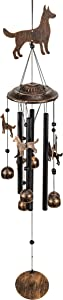 VP Home Dogs Outdoor Garden Decor Wind Chime