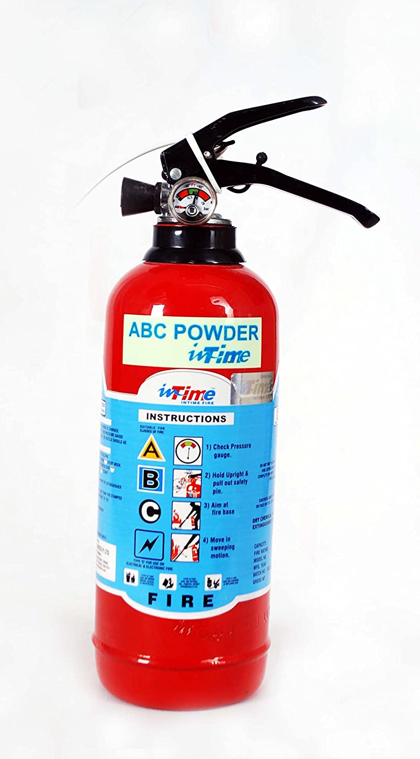 INTIME 1 KG ABC Type Fire Extinguisher: Amazon.in: Home & Kitchen